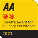 AA Rosette of Culinary Excellence 2021
